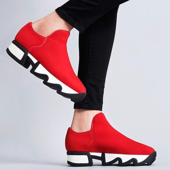 iRi Shoes | Iri Sneakers Red Neoprene